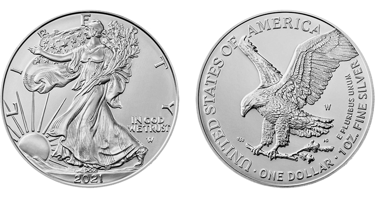 Uncirculated 2021-W American Eagle