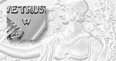 Uncirculated 2021-W American Eagle silver dollar