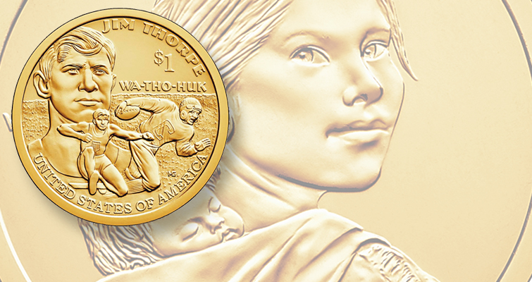 2017 2018 S Native American Sacagawea Proof ~ US Coin from Proof Set