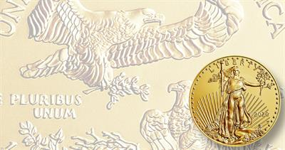 Uncirculated 2020-W gold American Eagle
