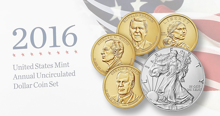 Annual Uncirculated Dollar Set Final 2016 Product Coin World