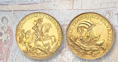Hungarian gold 10-ducat