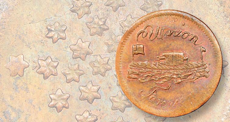union-forever-civil-war-token-lead