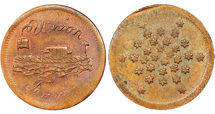 union-forever-civil-war-token