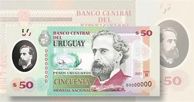Uruguay 50 peso note