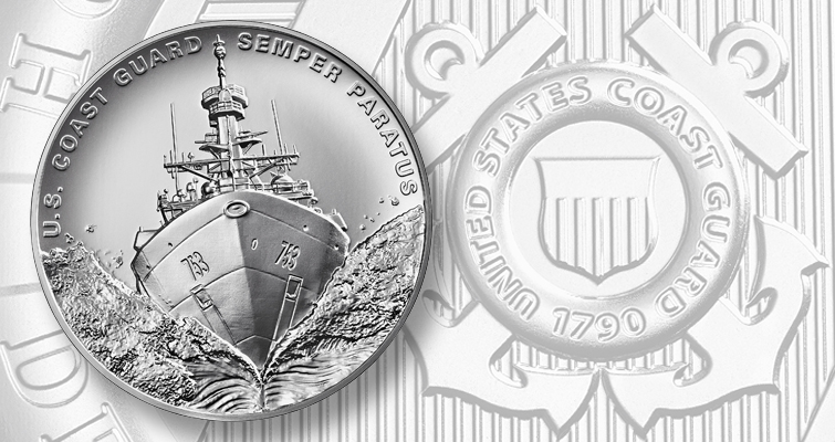 Coast Guard U.S. Armed Forces silver medal