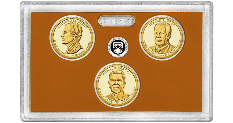 US Presidential Coins 2016 Proof
