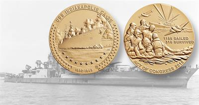 uss-indianapolis-bronze-medal-lead