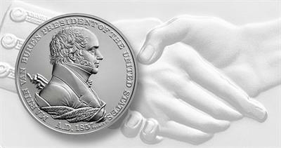 Martin Van Buren silver medal