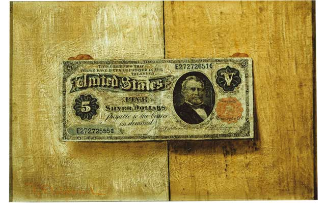 Victor_Dubreuil-five-dollar-bill-painting