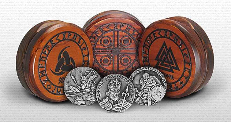 American Precious Metals Exchange issues first coins in Vikings: Gods, Kings, Warriors series from Scottsdale