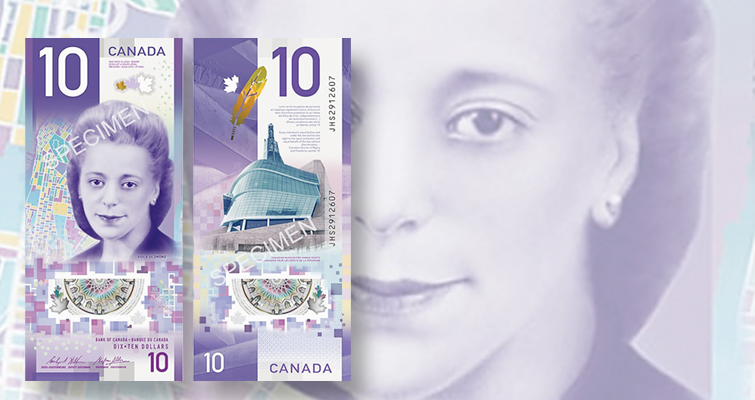 Bank of Canada unveils new $10 note honoring civil rights hero Viola Desmond