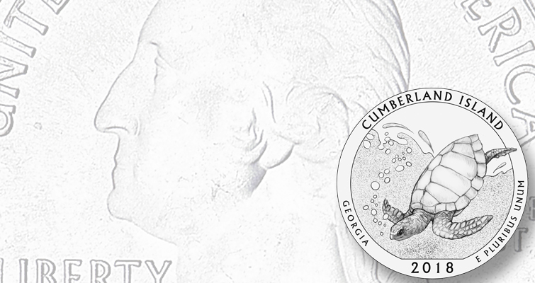 2018 America the Beautiful quarter reverse