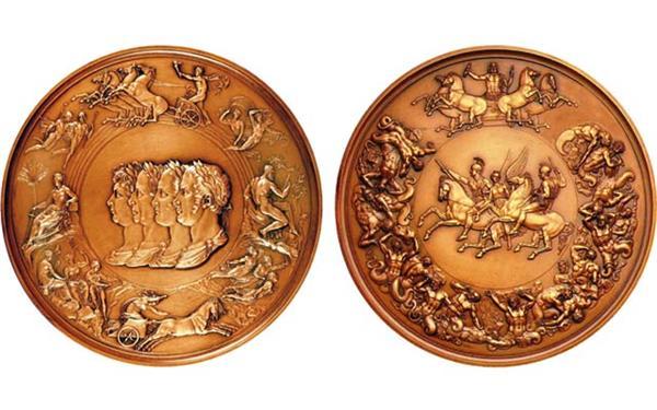 Waterloo-medal-electrotype