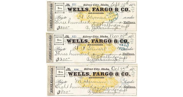 wells-fargo-checks-silver-city-idaho-1005