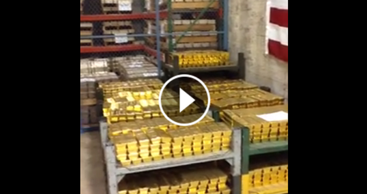 Here's what the West Point Mint's bullion storage vault looks like: Coin World Buzz