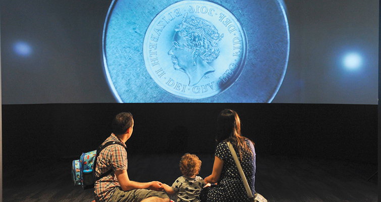 Royal Mint opens visitor's center in Wales wide-screen-film-lead