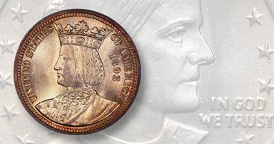 1893 Columbus commemorative quarter