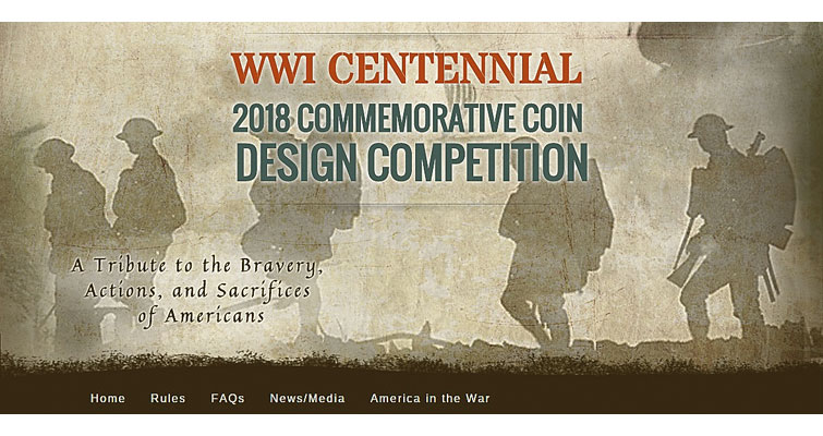 U.S. Mint announces design competition for 2018 World War I silver dollar