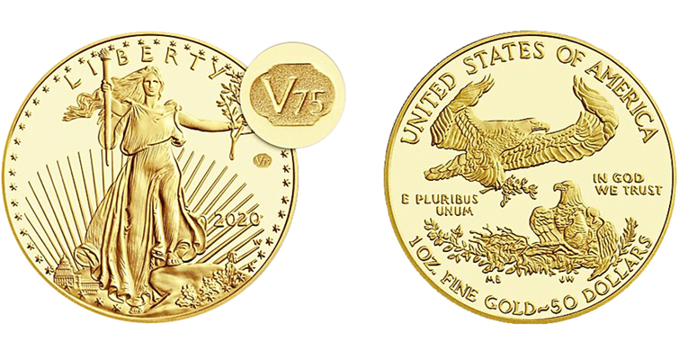 WWII American Eagle gold
