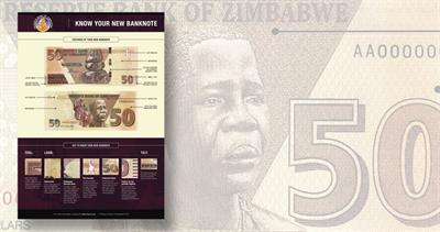 Zimbabwe 50-dollar